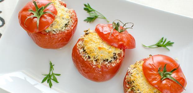 Schnelle Rezepte: Gefüllte Tomaten