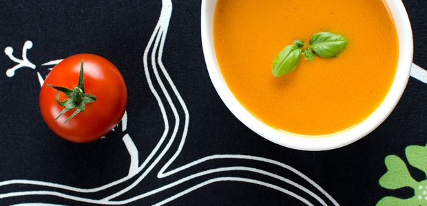 Tomatensuppe vom Grill