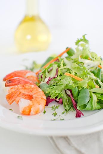 salat-garnelen